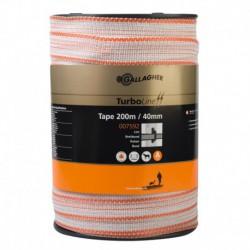Cinta Turbo Tape 200 m. 40 mm.