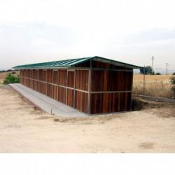 Box Weme exterior de 3 x 3 m