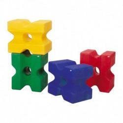 Cubo de plástico para obstáculos