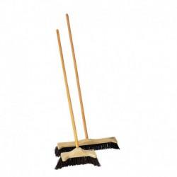 Escobón angular reforzado 40 cm con palo