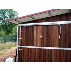 Ducha giratoria galvanizada para caballos
