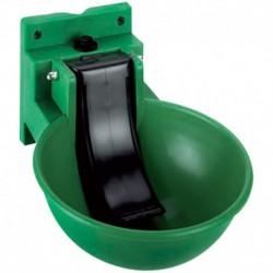 Bebedero automático verde con lengüeta