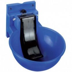 Bebedero automático azul con lengüeta