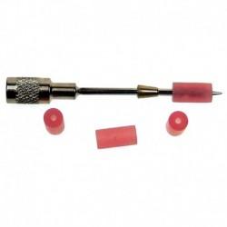 Tapón rojo para agujas de 2mm Ø (50 ud)