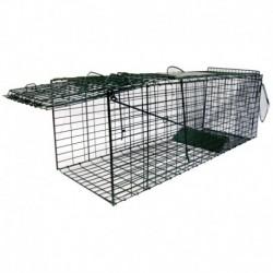 Jaula de captura plegable gatos 94 x 31 x 31 cm