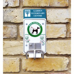 Soporte de sujeción de animales a pared