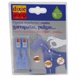 Pipetas repelentes de parásitos de perros (2 ud)