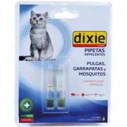 Pipetas repelentes de parásitos de gatos (2 ud)