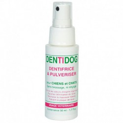 Dentífrico spray Dentidog