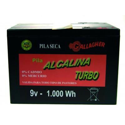 Pila alcalina de 120 Ah. 9 V