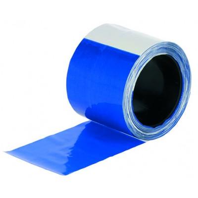 Cinta de protección para mallas azul/blanca
