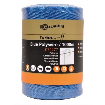 Cordón naylon azul 1000 m.