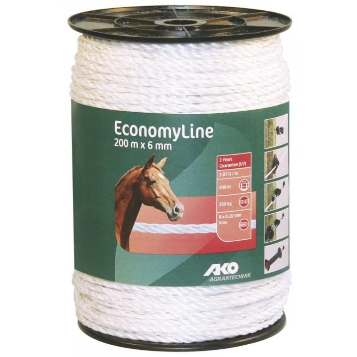 Cordón caballo 6 mm 200x6 hilos