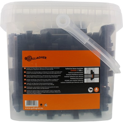Aislador para cinta de 40 mm-cubo 100 uds.