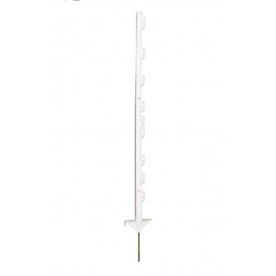 Piqueta de plástico de 1 m. con 9 separaciones