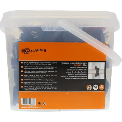 Aislador de esquina para cinta 4 cm-cubo 30 uds.