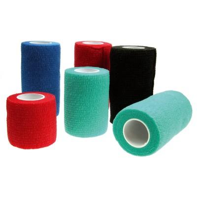 Vendas cohesivas de 5 cm. azul