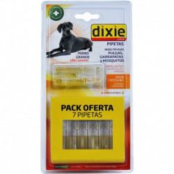 Pipetas insectífugas Dixie para perro grande