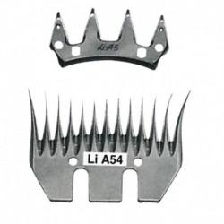 Juego peine y cuchilla Liscop modelo A54