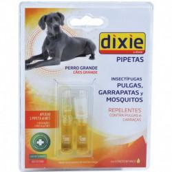 Pipetas antiparasitarias insectífugas Dixie perros y gatos (2 ud)
