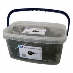 Aislador de rosca madera (cubo 90 ud)