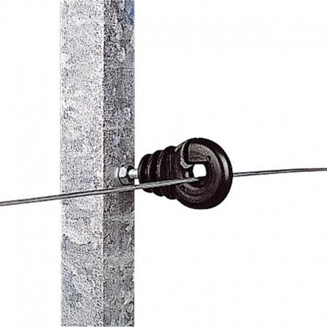 Aislador con tuerca 5 mm