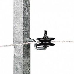 Aislador de esquina para poste metal
