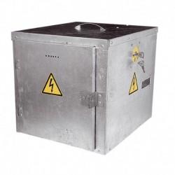 Caja antirrobo metálica electrificada