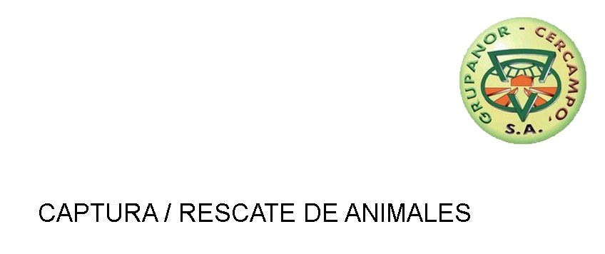 Captura/rescate de animales